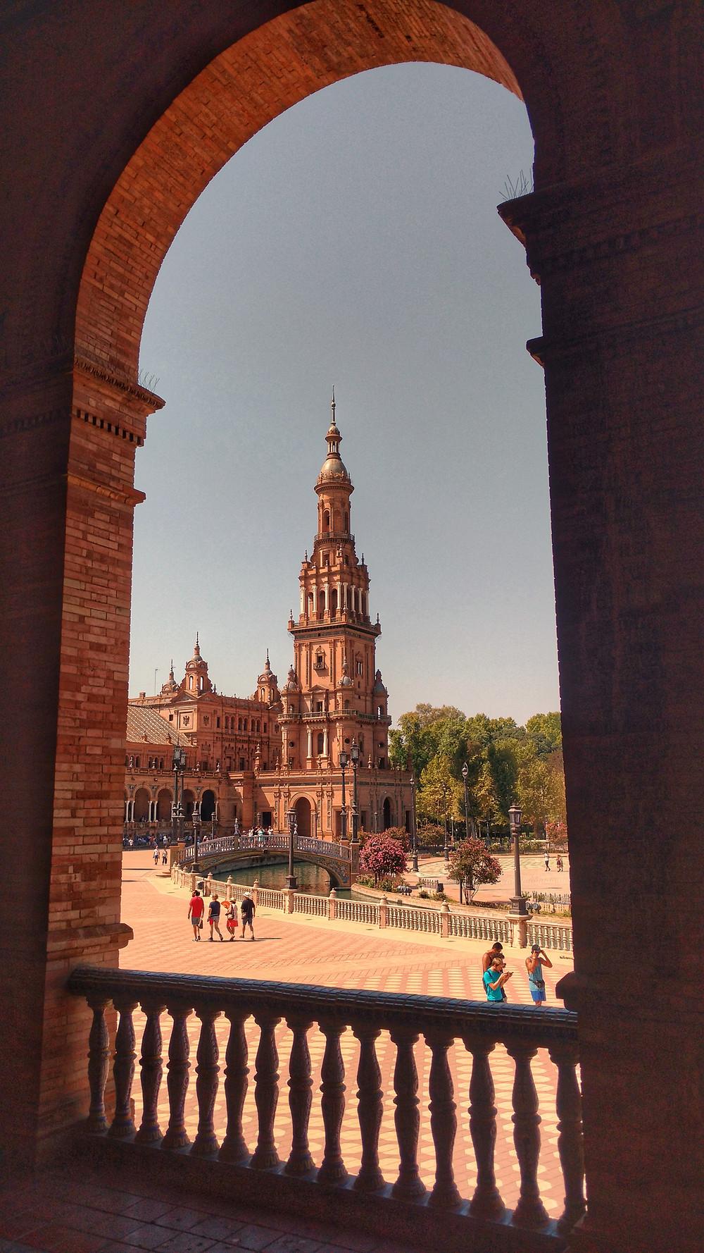 Praça da Espanha - Sevilla