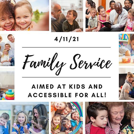 Family Service @ 3:00