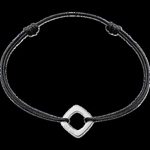 Bracelet sur cordon Impression XS dinh van Or blanc