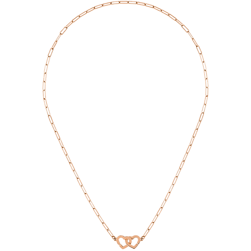 Collier Double Coeurs dinh van R9 Or rose