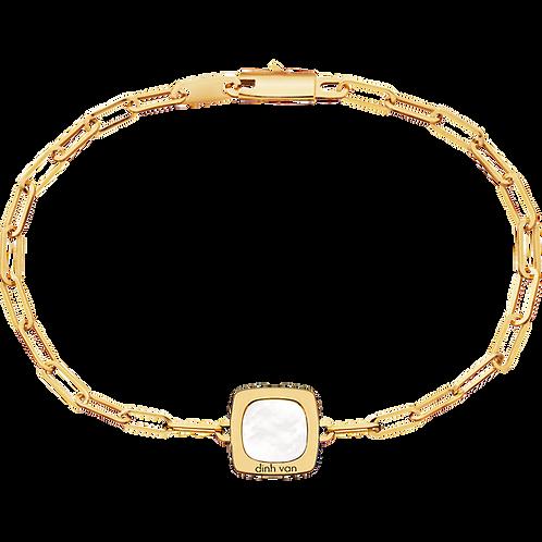 Bracelet sur chaîne Impression dinh van Or jaune Nacre