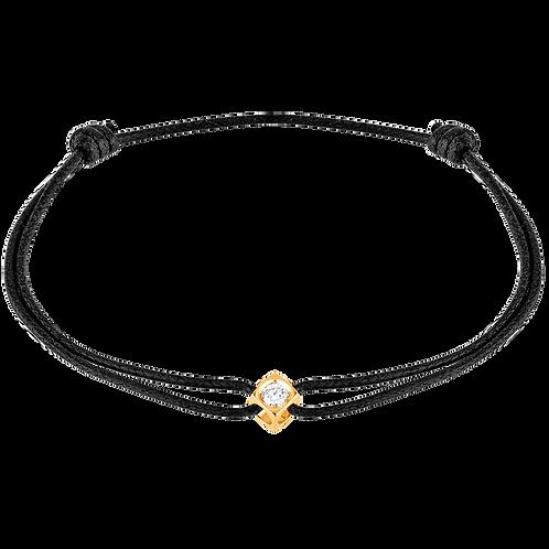 Bracelet sur cordon Le Cube Diamant dinh van Or jaune