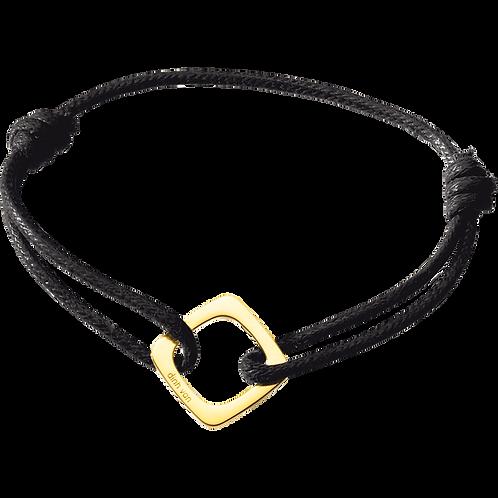 Bracelet sur cordon Impression dinh van Or jaune