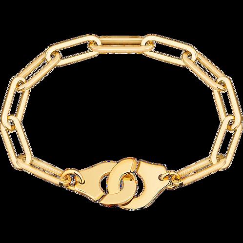Bracelet sur chaîne Menottes dinh van R15 Or jaune