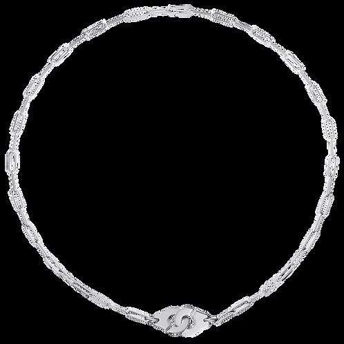 Collier Menottes dinh van R10 Or blanc