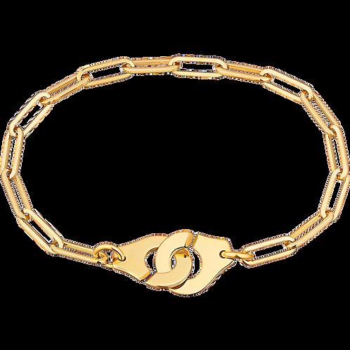 Bracelet sur chaîne Menottes dinh van R12 Or jaune