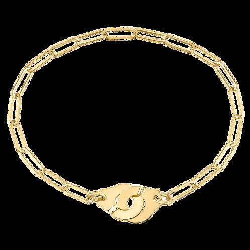 Bracelet sur chaîne Menottes dinh van R10 Or jaune