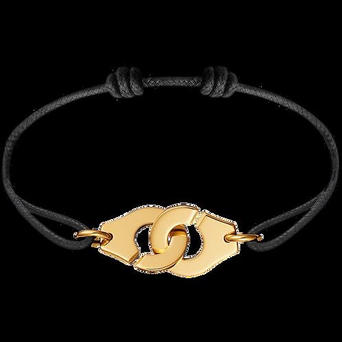 Bracelet sur cordon Menottes R15 dinh van Or jaune