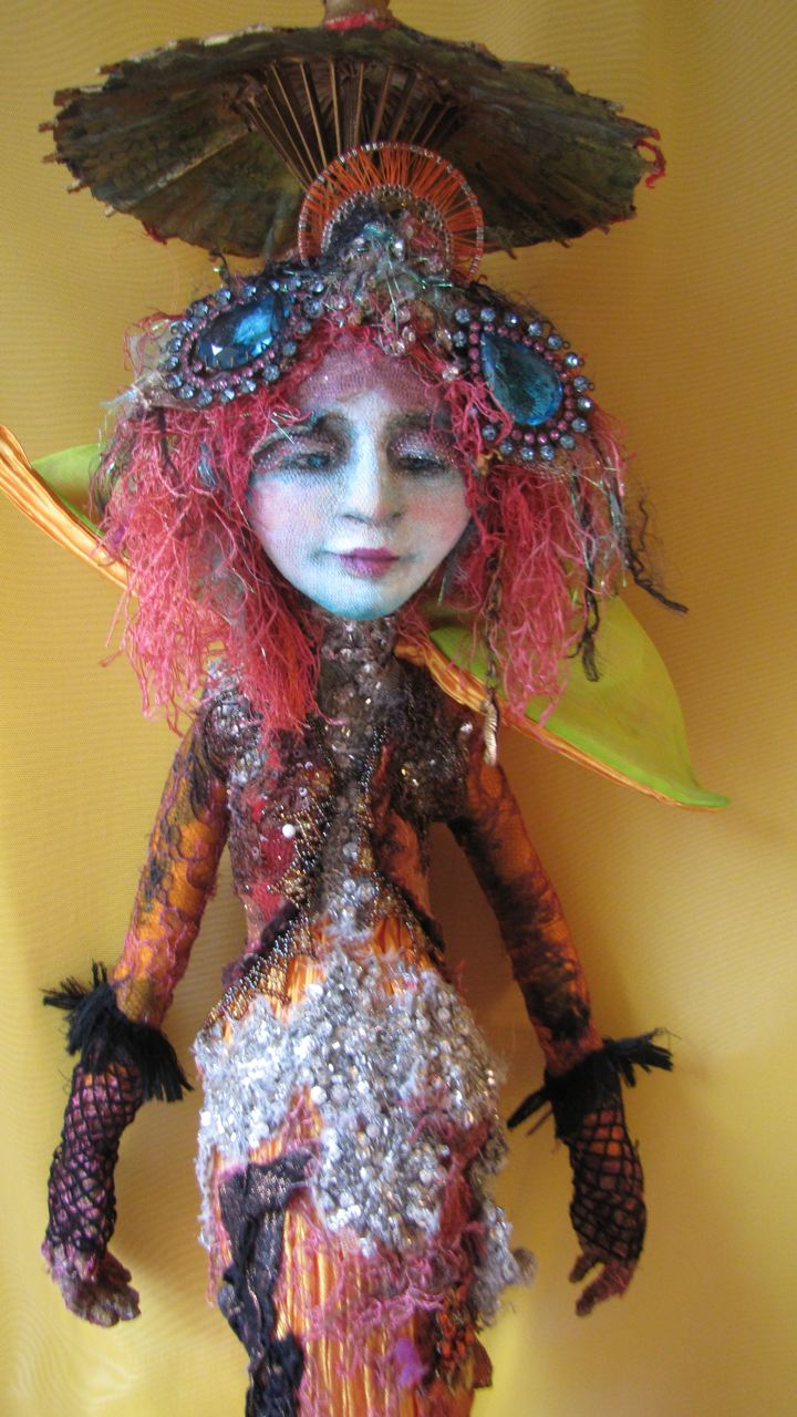"""Mermaid"" freestanding 33"""