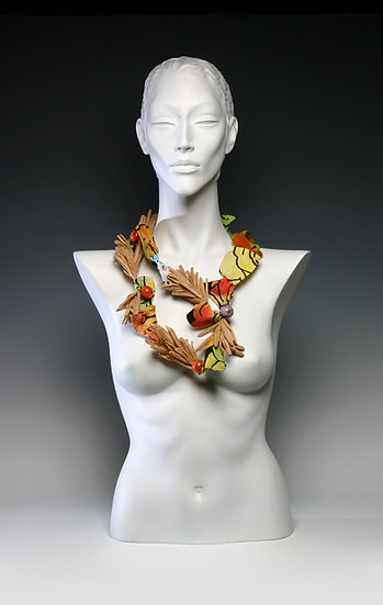 TROPICAL RAVIOLI NECKLACE