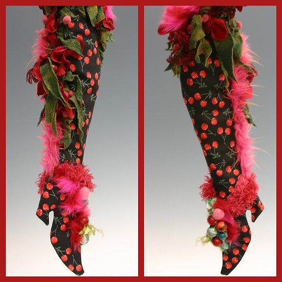 Cherry Jubilee Stocking