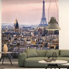Wandpaneel Parijs city