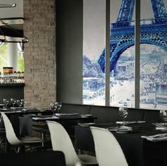 Wandschilderij 3 luik Parijs Eiffeltoren
