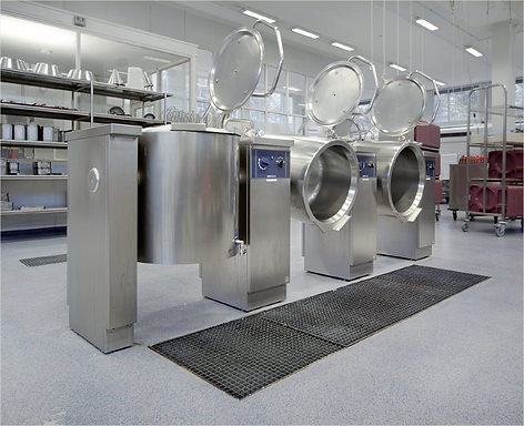 Acrylicon commercial kitchen