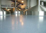 Acrylicon floor brewery
