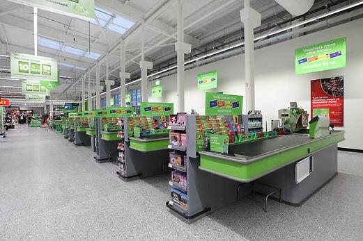 Acrylicon floor retail