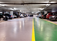 Acrylicon floor car park