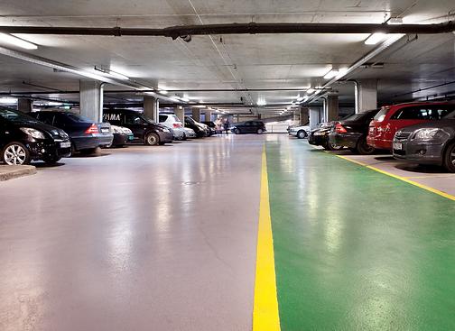 Acrylicon car parks
