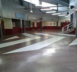 Acrylicon floor stadium