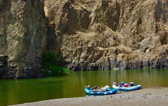 High Desert rafting