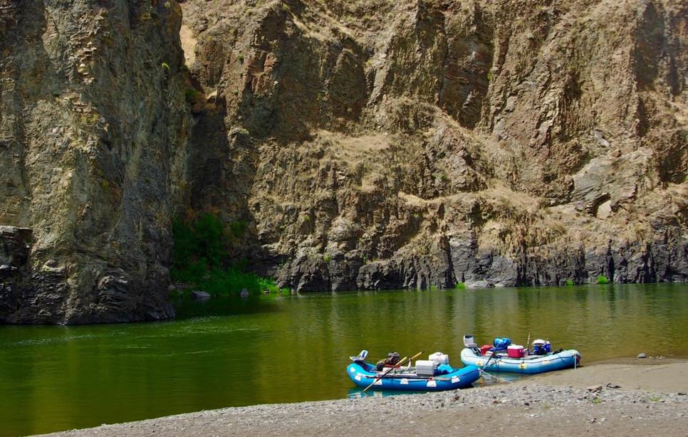 High Desert river