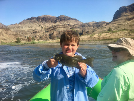Smallmouth Bass on the John Day