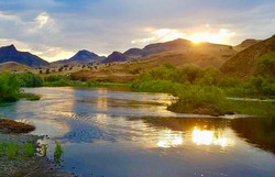 Sunset on the John Day River