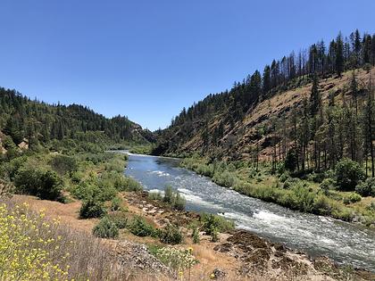 Hellgate Canyon Rogue River Oregon Arrowhead River Adventures