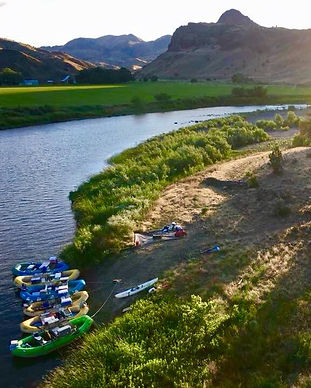 Oregon John Day River High Desert Rafting and Camping