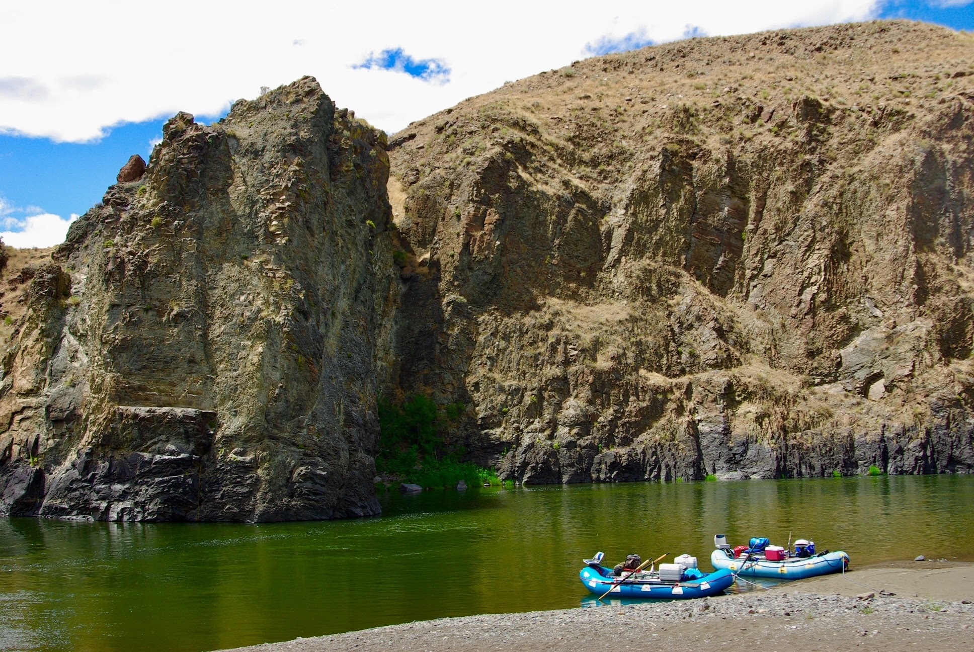 Rafting the John Day River