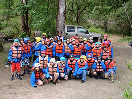 whitewater rafting group oregon rogue river
