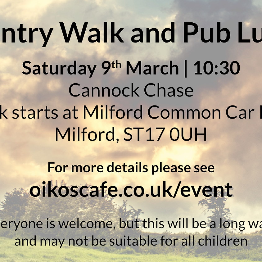 Walk and Country Pub Lunch