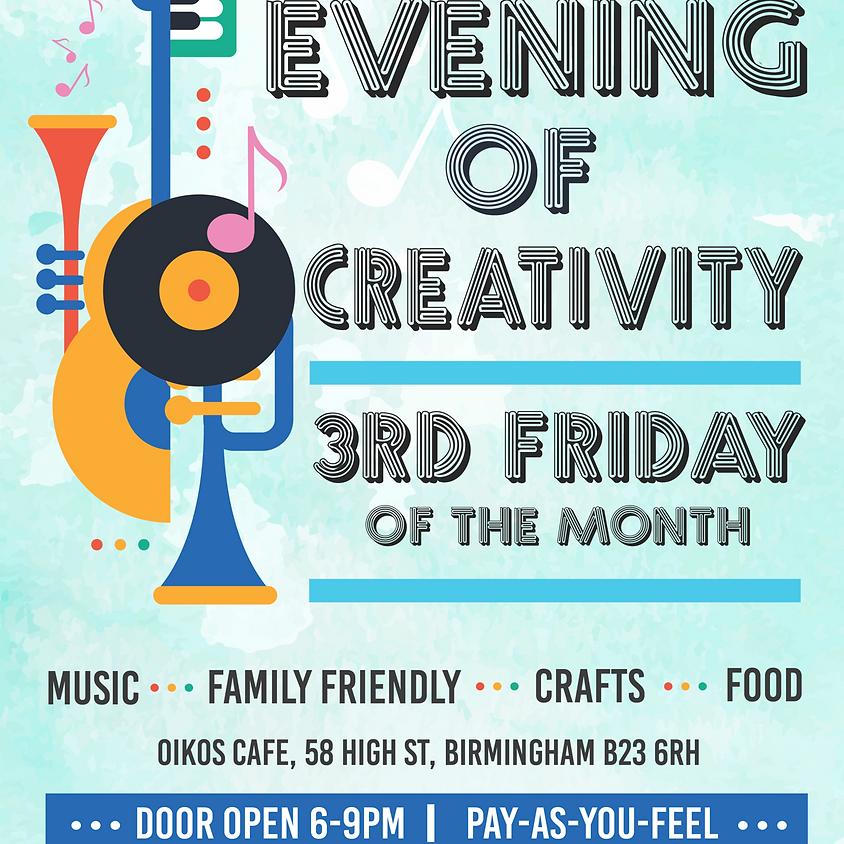 Café Arts (Evening of Creativity)