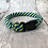 "Thumbnail: 13"" Peacock Soft Rope Collar"