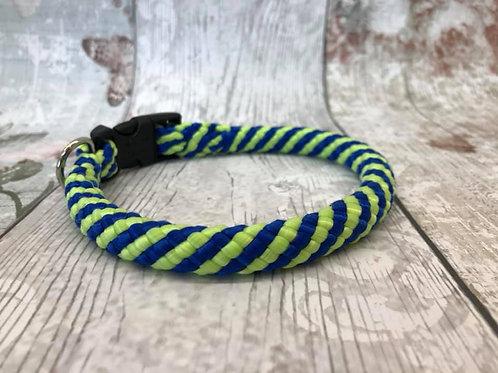 "13"" Peacock Soft Rope Collar"