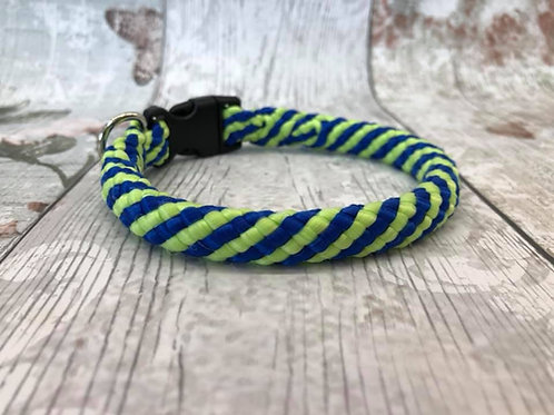 "11.5"" Peacock Soft Rope Collar"