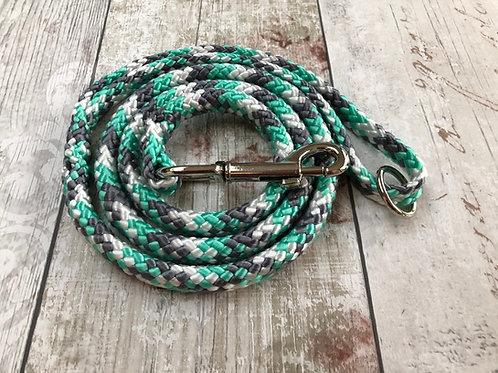 4ft Mint Camo Soft Rope Lead