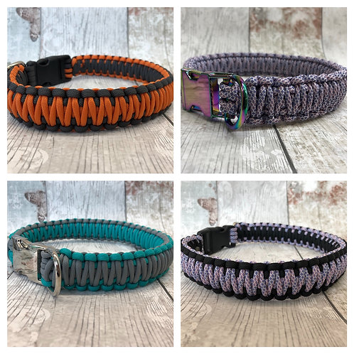 Paracord Double Weave Collar