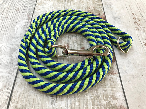 4ft Peacock Soft Rope Lead