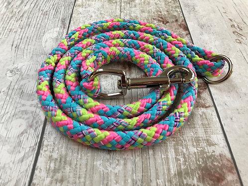 4ft Bubble Gum Soft Rope Lead