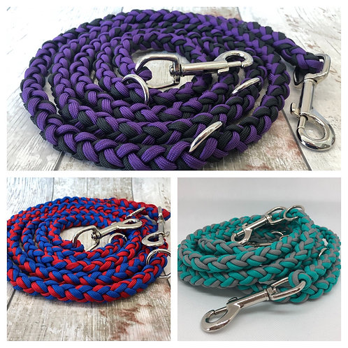 Custom Double Ended Thick Paracord Lead