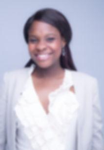 Head shot of Dr Sefa Ahiaku smiling