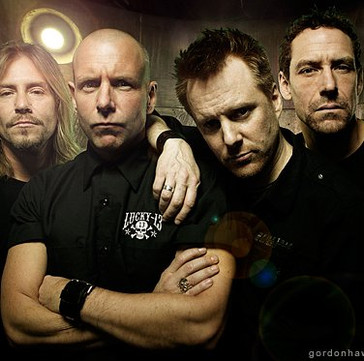 HEADSTONES Drummer DALE HARRISON Quits Band