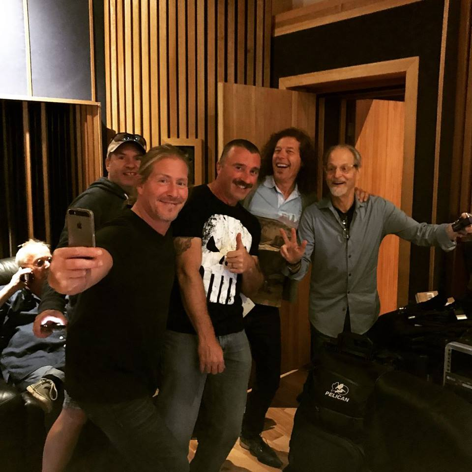 In Studio with Tommy G and the gang Recording