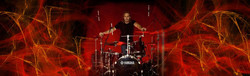 DH red with DrumKit Yamaha 1 cropped