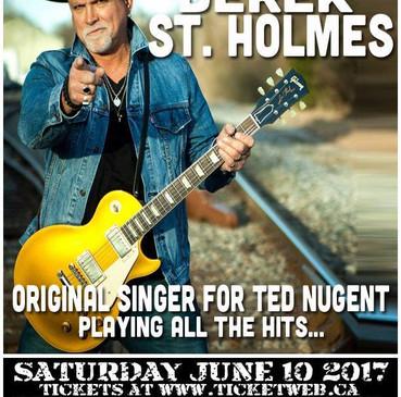 Sat.10.Jun.17 Derek St. Holmes Band - @ Rockpile, Toronto