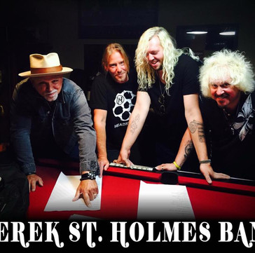 Sun.11.Jun.17 Derek St. Holmes Band @ tba, Buffalo, NY
