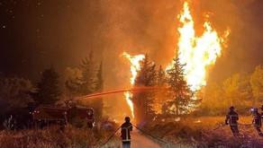 Aude : plus de 850 hectares brulés, près de 1000 pompiers mobilisés