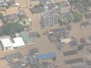 Japon : au moins 50 morts après de fortes pluies