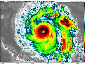 Douglas, un ouragan de catégorie 4